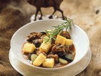 Lamb Stew with Polenta recipe