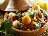 Lamb Tajine with Turnips and Preserved Lemon recipe
