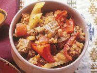 Lamb with Bulgur recipe