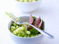Lamb with Bulgur Salad recipe