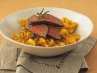 Lamb with Carrot and Celery Purée