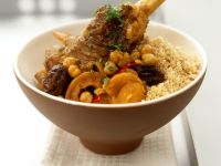 Lamb with Chickpeas and Couscous recipe