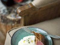 Lamb with Cornmeal and Chutney recipe