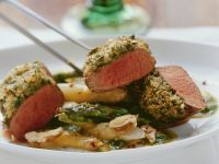 Lamb with Herbs and Asparagus recipe