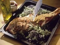 Lamb with Mustard Crust recipe