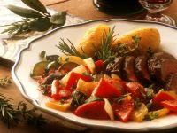 Lamb with Peppers and Potatoes recipe