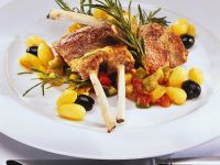 Lamb with Ratatouille and Potatoes recipe