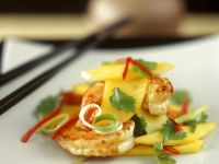 Large Prawn and Tropical Fruit Salad recipe