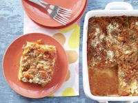 Lasagna with Cottage Cheese recipe