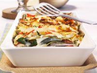 Lasagna with Swiss Chard and Kohlrabi recipe