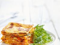 Lasagna with Zucchini and Peppers recipe