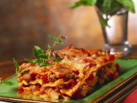 Lasagne with White Sauce recipe