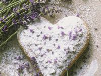 Lavender Heart Cookie recipe