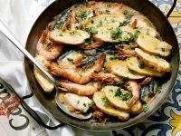 Layered Fish and Shellfish Stew recipe