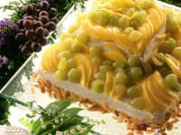 Layered Mango Grape Torte