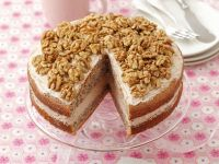 Layered Nut Gateau recipe