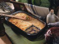 Layered Potato, Cabbage and Sausage Bake recipe