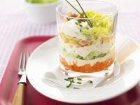 Layered Salad with Cabbage recipe