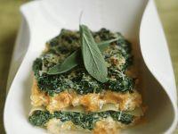 Layered Veggie Lasagne recipe