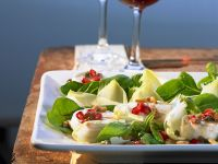 Leaf Salad with Goat Cheese recipe