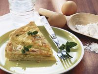 Leek and Cheddar Tart recipe