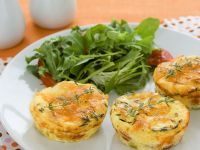 Leek and Cheese Tartlets recipe