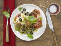 Leek and Tomato Gratin recipe