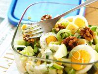 Leek, Cucumber, and Apple Salad recipe
