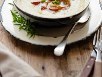 Leek Soup with Chorizo recipe