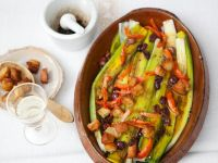 Leeks with Dressing recipe