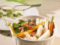 Leipziger-Style Vegetables with Shrimp recipe