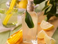 Lemon and Basil Syrup recipe