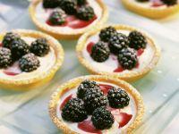 Lemon and Blackberry Mini Tarts recipe
