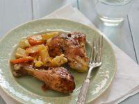 Lemon and Garlic Chicken Pieces recipe