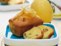 Lemon and Raisin Muffins recipe