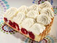 Lemon and Raspberry Cream Tart recipe
