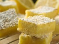 Iced Lemon Squares recipe