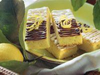 Lemon Bars with Chocolate Icing recipe