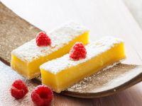Lemon Bars with Raspberries recipe