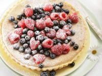 Lemon Cake with Berries recipe