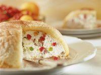 Lemon Cake with Fruity Ricotta Filling recipe