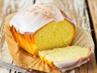 Lemon Cake with Glacé Icing recipe