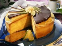 Lemon Cake with Marzipan recipe