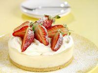 Lemon Cheesecake with Strawberries recipe