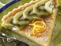 Lemon Cream Tart with Kiwi recipe