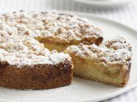 Lemon Crumble Sour Cream Cake recipe