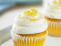 Lemon Cupcakes with Buttercream Frosting recipe