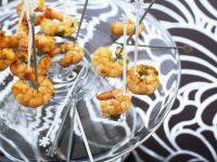 Lemon, Ginger and Chili Shrimps recipe