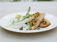 Lemon Salmon with Creamy Asparagus recipe