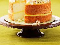 Lemon Sponge Cake with Coconut and Pistachios recipe